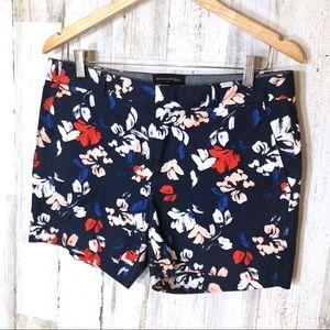 Banana Republic Floral Shorts Size 8